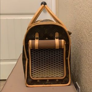 Louis Vuitton Sac Chien Pet Dog Carrier